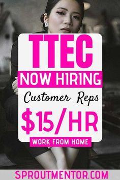 TTEC is now hiring B