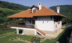10 najlepših kuća u srpskom stilu - Blic. Hut House, Cabin Homes, Gazebo, Architecture Design, House Plans, House Design, Outdoor Structures, Rustic, House Styles