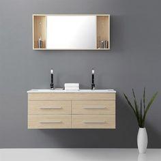 LEA Salle de bain complète Beige - Achat / Vente ENSEMBLE MEUBLES DE SALLE DE BAIN LEA Salle de bain Beige - Cdiscount.com,