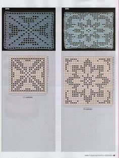 Crochet and arts: Crochet edges Filet Crochet, Crochet Round, Crochet Squares, Knit Or Crochet, Crochet For Kids, Crochet Motif, Crochet Shawl, Crochet Doilies, Double Crochet