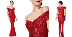 This stunning fitted sequinned maxi dress with pleated neckline and back slit in store now. Available for hire too Designer Cocktail Dress, Cocktail Dresses, Ball Dresses, Ball Gowns, Red Wedding Receptions, Affordable Wedding Dresses, Formal Gowns, Fashion Company, Wedding Designs