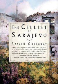 The Cellist Of Sarajevo by Steven Galloway (also available in audiobook)