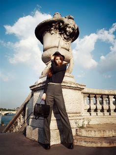 Miss A Suzy - Harpers Bazaar Magazine September Issue