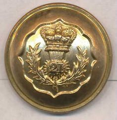 21st of Foot- Royal Scots Fusilers  1861-1870 Officers QVC  J.W.Reynolds & Co.  London