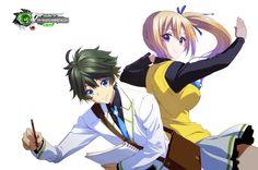 Phantom World:Kawakami Mai+Ichijou PNG by OtakuRenders-Service