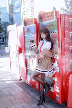 Character : Kurisu Makise  Of : #anime : Steins;Gate  #Cosplayer : TUNA Cosplayer ( S,korea )  Twitter : https://twitter.com/TUNA_yj0713  Photo by Garam & Dall