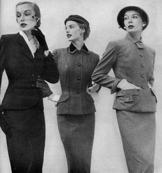 1950s Tailored Suits