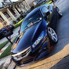 Wheel Offset 2012 Honda Accord Flush Dropped 3 Custom Rims