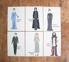 Harry Potter Inspired Old Maid Card Game by AfternoonCoffee