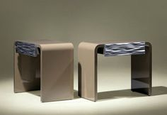 Beds, Bed-side tables,Contemporary bedside tables... - All architecture and design manufacturers in this category - Videos - Page 9
