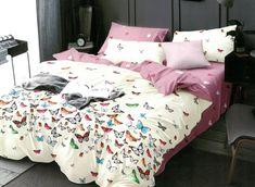 Lenjeria de pat 2 persoane 6 piese din bumbac satinat este confectionata din tesatura de bumbac si tesatura tip satin. Toddler Bed, Satin, Furniture, Home Decor, Child Bed, Decoration Home, Room Decor, Elastic Satin, Home Furnishings