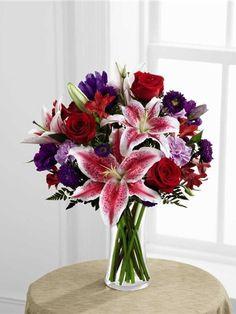 Stargazer Lilies   Stunning Beauty Bouquet   Flower Delivery Shops