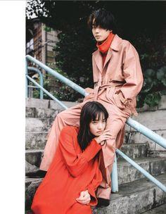 [Photoshoot] Suda Masaki and Komatsu Nana for soup magazine - Celebrity Photos - OneHallyu Pose Reference Photo, Art Reference Poses, Couple Posing, Couple Shoot, Fashion Poses, Fashion Photo, Film Photography, Couple Photography, Nana Komatsu Fashion