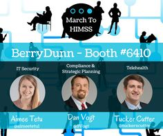 BerryDunn is excited to participate as an exhibitor this year with a team of experts from our Healthcare Consulting practice attending. Come chat with us at booth #6410 to learn more about the work we're doing with healthcare organizations across the U.S..