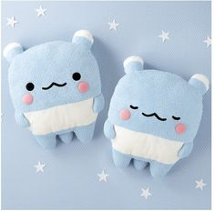 blue bears!!!!!! Oyasumi is what i think this character is. Its from San-x