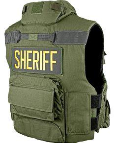 U.S. Armor | GET - Gang Enforcement Team (Back) | Custom Fit Body Armor | You'll Wear It! | www.usarmor.com