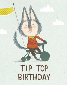 Tricycle Birthday Card