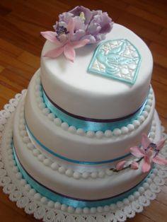 Confirmation cake by Andrea Mihalkova