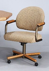 Chromcraft Furniture C362 855 Swivel Tilt Caster Chairs Available At Www Dinetteonline