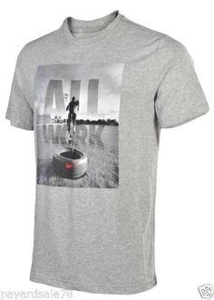 MEN'S NIKE T-SHIRT DRI-FIT COTTON TEE FOOTBALL TRAIN RUN 100% AUTHENTIC CHEAP  #NIKE #GraphicTee