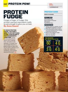 Protein fudge with cashew, almond, or peanut butter