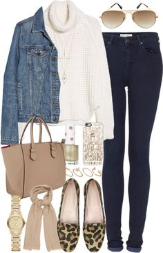 The Polyvore Collection — styleselection: Outfit for a college tour by...