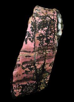 Rhodonite var.Orlets from Urals Region, Russia