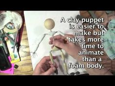 Making the frame for your clay puppet for under 15 dollars.