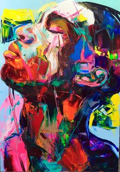 With bold strokes and vibrant colors, each of Francoise Nielly's paintings exude raw emotion. Vibrant Palette Knife Portraits Radiate Raw Emotions - My Modern Met Make 2017, L'art Du Portrait, Portrait Paintings, Art Paintings, Modern Portraits, Creative Portraits, Palette Knife Painting, Palette Art, Painting & Drawing