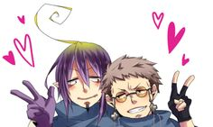 Blue Exorcist - Mephisto x Shiro ....Oh, gawd I ship this! <3 Before, I wasn't so sure; because, so far for me, we haven't seen them together so I wasn't sure if it'd work. But after trolling through fanart, I have officially become a shipper of this!!