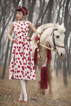 cherry-dress-outdoor