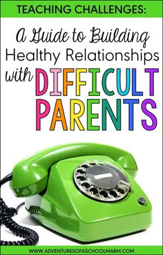 How to Build Relationships with Difficult Parents Do you need help building relationships with difficult parents? Try these proactive, actionable strategies that are specifically focused on teachers facing the challenges with parent communication. Parents As Teachers, New Teachers, Elementary Teacher, Elementary Schools, Teachers Toolbox, Elementary Music, Parent Teacher Communication, Parent Teacher Conferences, Parent Involvement Ideas
