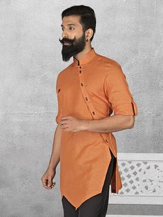 Mens Short Pathani Buy Mens Wedding & Party wear short pathani kurta at discounted prices. Exclusive Short pathani collection of Linen short pathani kurta, Cotton Short Pathani, Silk fabric short pathani. Gents Kurta Design, Boys Kurta Design, African Attire, African Wear, African Tops, Indian Men Fashion, African Fashion, Pathani Kurta, Kurta Men
