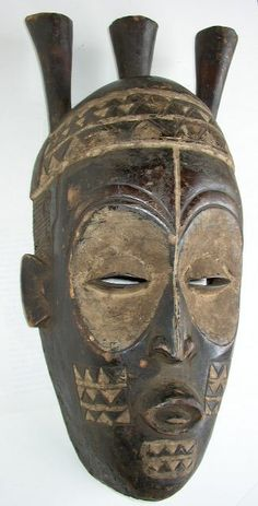 Biombo Mask by  Unknown Artist