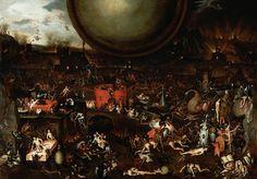 Herri met de Bles, Inferno, 16th century.