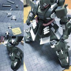 いいね!277件、コメント20件 ― blue blue / あおさん(@blueblue0625)のInstagramアカウント: 「今日は、ヒザパッドの内側にもう一枚装甲を足しました。 #ig模型同好会 #modelkit #plamo #plasticmodel #プラモデル #mecha #robot #gunpla…」