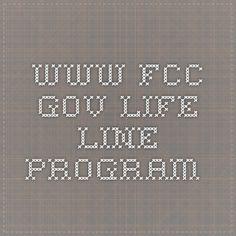 www.fcc.gov  life line program