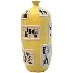 Guido Gambone, ceramics, Signed: Gambone, Italy, Circa 1950, Italy. Height: 46 cm, diameter 20 cm.
