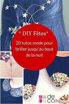 20 DIY mode pour une tenue de fête