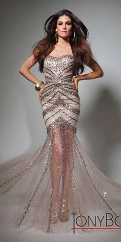 friggn goregous... but a bit too pricy.. yay or nay?  Tony Bowls TBE21371 Dress - In Stock - $590