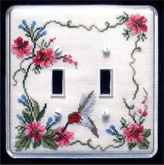 16 Best Cross Stitch Switch Covers Images Switch Plate Covers