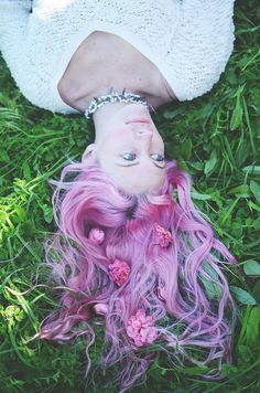 Lavender hair, want this for my next color.