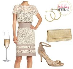 Gorgeous Ideas for What to Wear to a Garden Wedding | Fabulous After 40
