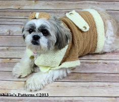 Dog Coat Crochet Pattern