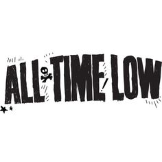 All Time Low's Logo. ❤ liked on Polyvore