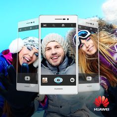Capture the whole experience using the panorama selfie feature. 3c, Selfie, Gallery, Selfies