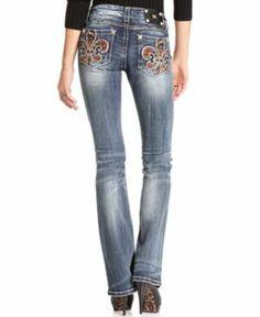 Miss Me Bootcut Jeans Women Women's Clothing - Jeans