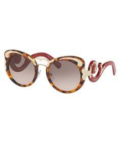 107603b0b9d Women s Havana cateye detail sunglasses Sale - Prada