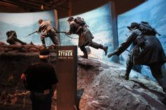 COLUMBUS -- Shortly after the National Infantry Museum opened in 2009 in a new $110 million facility, something unusual happened at its signature exhibit, The Last 100 Yards Ramp.