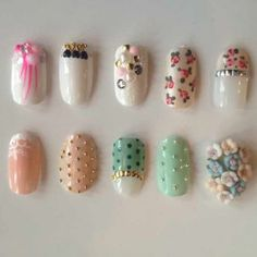 Bridal Nail Design Gallery